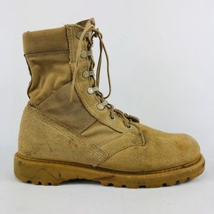 Rocky Tan Combat Boot Size: 8.5 W